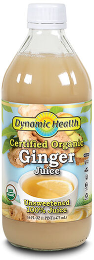 Dynamic Health Certified Organic Ginger Juice