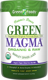 Green Foods Green Magma® Organic Barley Grass Powder