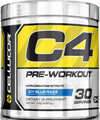 Cellucor C4 Pre Workout Icy Blue Razz 6.87 oz. 7 oz. Powder