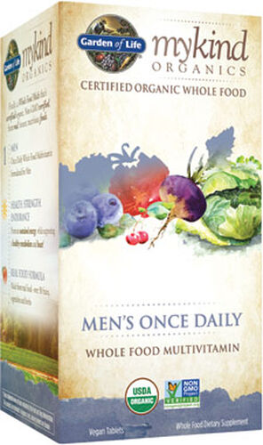 Garden of Life mykind Organics Men's Once Daily Multivitamin