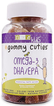 Natural Dynamix Gummy Cuties Omega-3 DHA/EPA Kids Gummies 60 Gummies