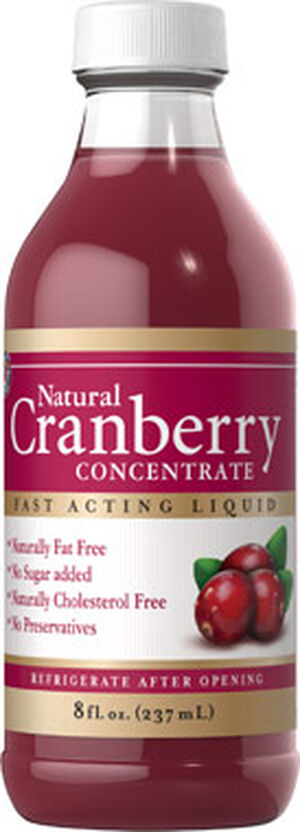 Herbal Authority Cranberry Concentrate 8 oz. Liquid Cranberry