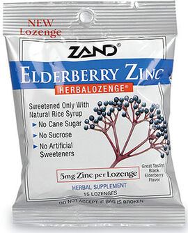 Elderberry Zinc Lozenges