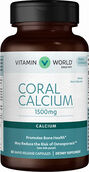 Vitamin World Coral Calcium 1500 mg. 60 Capsules