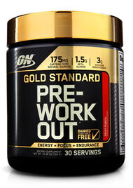 Optimum Nutrition Gold Standard Pre-Workout Fruit Punch 10.58 oz. 11 oz. Powder