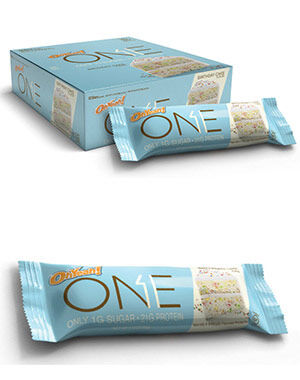 OhYeah Nutrition ONE Bars Birthday Cake 12
