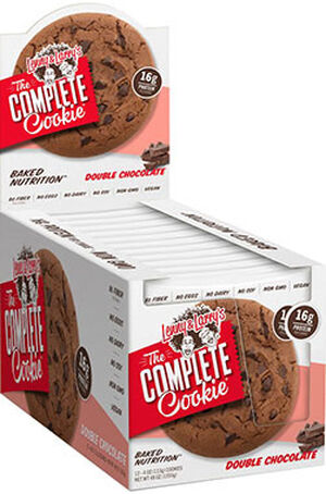 Lenny & Larry's Inc. The Complete Cookie Double Chocolate 12 Packs