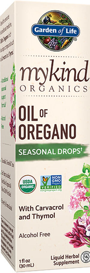 Garden Of Life myKind Organics Oil of Oregano Drops