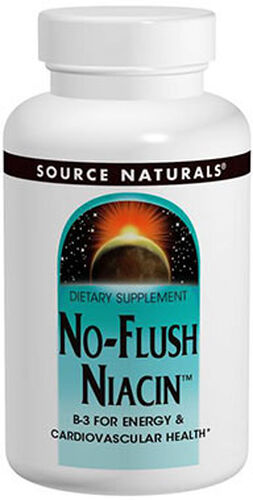 Source Naturals No-Flush Niacin™ 60 Tablets