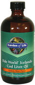 Garden Of Life Olde World Icelandic Cod Liver Oil 8 oz. Liquid