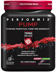 Performix® Performix™ Pump Pre Workout 8.27 oz. Cherry Limeade 8.27 oz. Powder