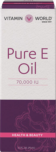 Vitamin World Pure E Oil 70,000 IU Vitamin E Oil
