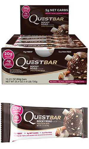 Quest Nutrition Quest Bars Rocky Road 12 Bars