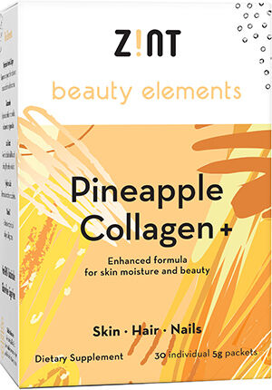 Zint Nutrition Beauty Elements Collagen+ Pineapple 30 Packets