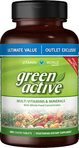 Green Active™ Multivitamins & Minerals Value Size, 480, hi-res