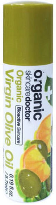 Organic Doctor Virgin Olive Oil Lemon Lip Balm 6 ml. Tube