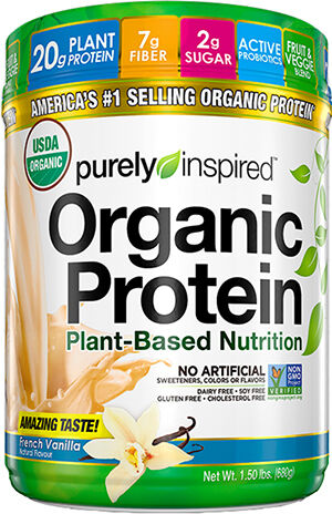 Purely Inspired Purely Inspired™ Organic Vegan Protein French Vanilla 1.5 lbs. Powder