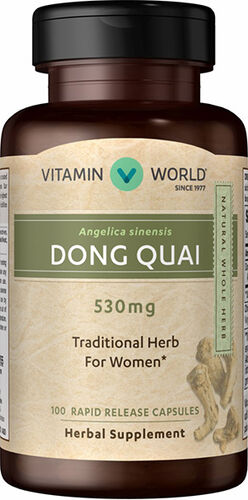 Vitamin World Dong Quai 530mg