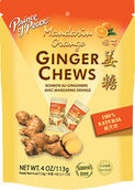 Prince of Peace Ginger Chews Mandarin Orange 4 oz. Chews
