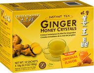 Prince of Peace Ginger Honey Crystals Instant Tea 10 Tea Bags