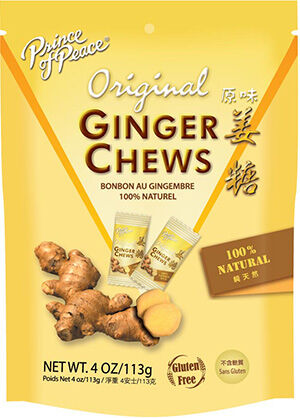 Prince of Peace Ginger Chews Original