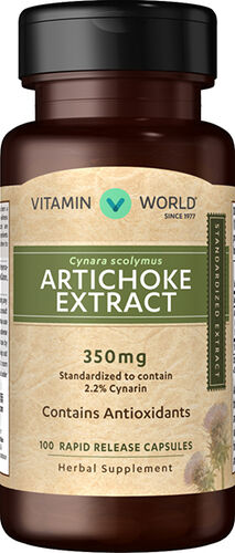 Vitamin World Artichoke Standardized Extract