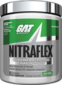 GAT Sport Nitraflex Pre Workout Green Apple