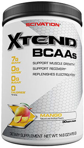 Scivation Xtend BCAAs Mango Nectar 14 oz. Powder