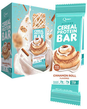 Beyond Cereal Protein Bars Cinnamon Roll, , hi-res