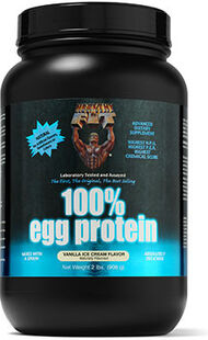 Healthy N Fit 100% Egg Protein Vanilla Ice Cream 2 lbs. Powder