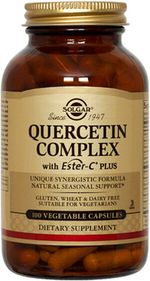 Solgar Quercetin Complex with Ester-C Plus (reactivation) 100 Vegi Caps