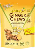 Prince of Peace Ginger Chews Lemon