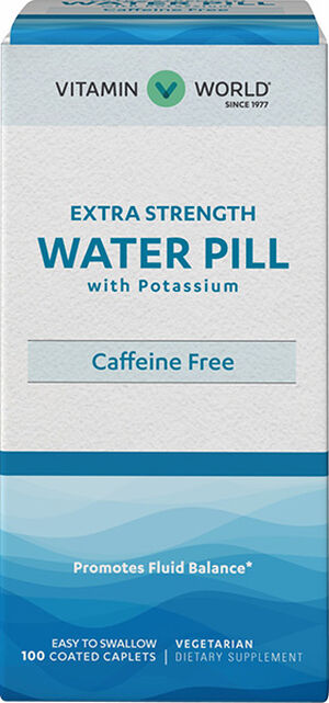 Vitamin World Extra Strength Water Pill™ 100 Tablets