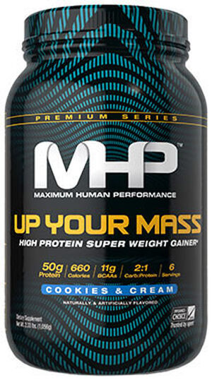 MHP Up Your Mass 2 lbs. Powder Cookies and Cream