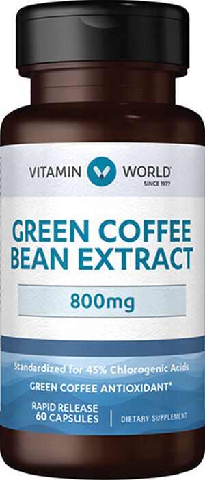 Green Coffee Bean Extract 800mg, , hi-res