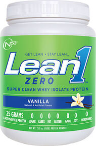 Nutrition 53 Lean1™ Meal Zero Super Clean Whey Isolate Protein Vanilla