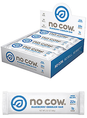 No Cow® Protein Bars Blueberry Cobbler, , hi-res