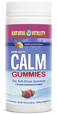 Natural Vitality Calm™ Gummies 120 Gummies 83MG
