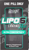 Nutrex® LIPO 6 Black Hers Ultra Concentrate 60 Capsules