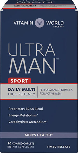 Ultra Man™ Sport Daily Multivitamins, 90, hi-res