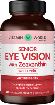 Vitamin World Senior Eye Vision 200 Capsules