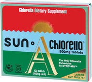 Sun Chlorella Sun Chlorella 500 mg. 120 Tablets
