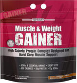 Muscle & Weight Gainer Double Chocolate Supreme 12 lbs., , hi-res