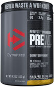 Dymatize PreW.O.™ Pre Workout Pineapple Orange Crush 1.09 lb. Powder