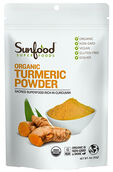 Sunfood™ Organic Turmeric Powder 4 oz. Powder
