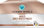 Vitamin World® Platinum Men's Daily Vitamins Multi-Packs
