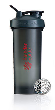 BlenderBottle® Pro45™ Grey/Red Shaker Bottle, , hi-res