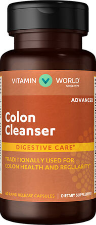 Vitamin World Advanced Colon Cleanser 60 Capsules
