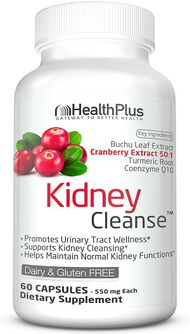Health Plus Kidney Cleanse 60 Capsules