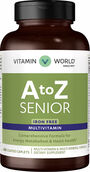 Vitamin World A to Z Senior Multivitamins Iron Free 240 Caplets